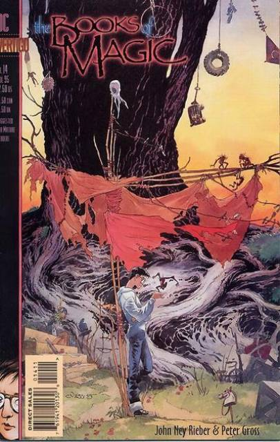 Books of Magic (1994) no. 14 - Used
