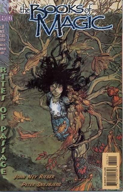 Books of Magic (1994) no. 34 - Used