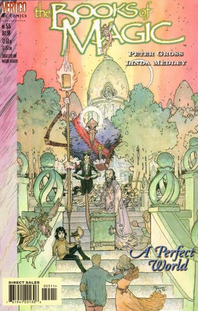 Books of Magic (1994) no. 55 - Used