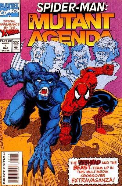 Spider-Man Mutant Agenda (1994) Complete Bundle - Used
