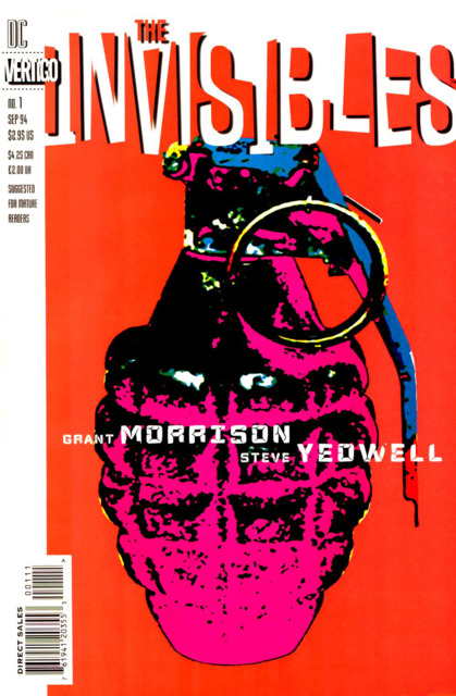 Invisibles (1994) no. 1 - Used