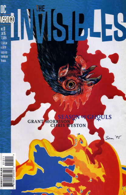 Invisibles (1994) no. 10 - Used