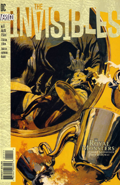 Invisibles (1994) no. 11 - Used