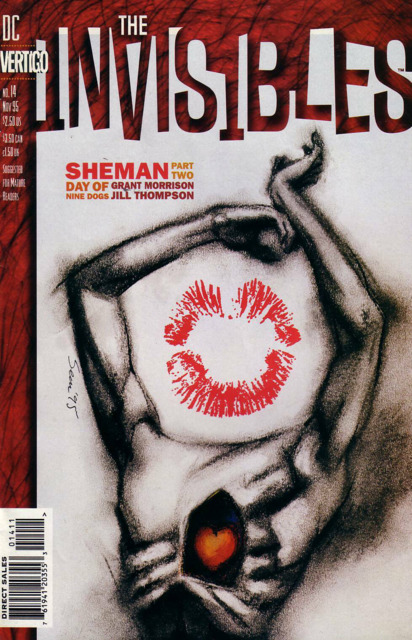 Invisibles (1994) no. 14 - Used