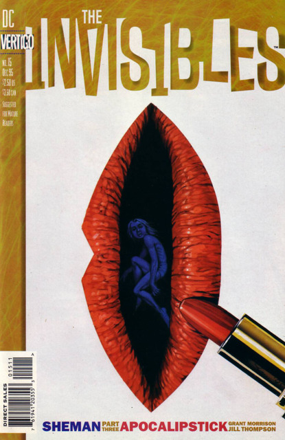 Invisibles (1994) no. 15 - Used
