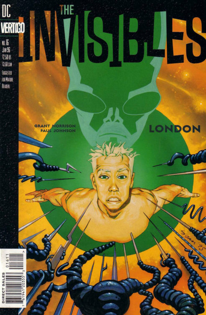 Invisibles (1994) no. 16 - Used