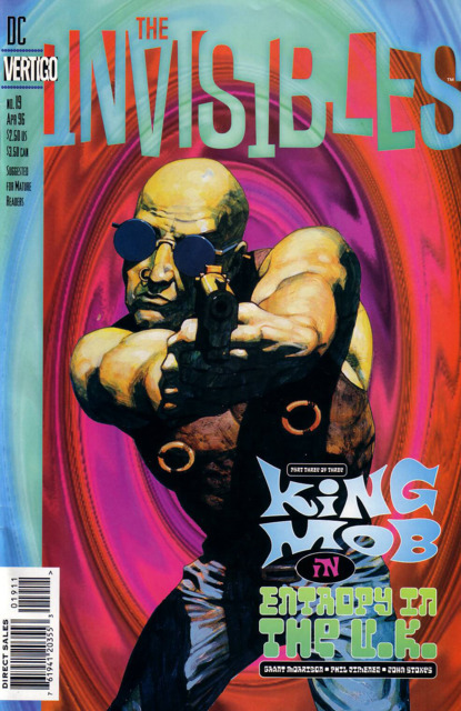 Invisibles (1994) no. 19 - Used