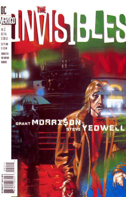 Invisibles (1994) no. 2 - Used