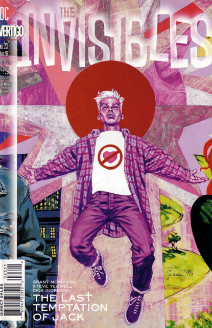 Invisibles (1994) no. 23 - Used