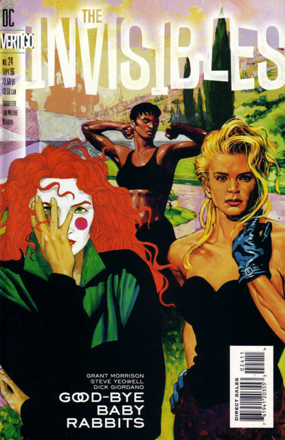 Invisibles (1994) no. 24 - Used