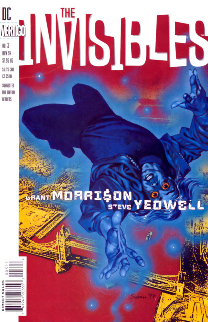 Invisibles (1994) no. 3 - Used