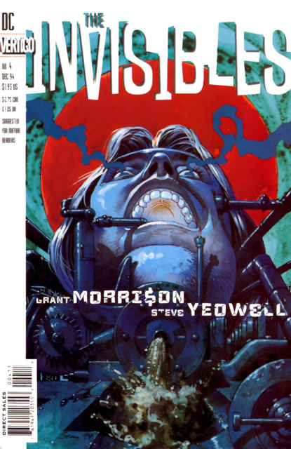 Invisibles (1994) no. 4 - Used