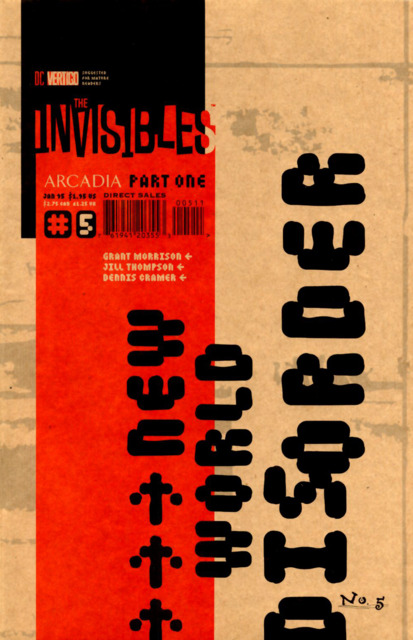 Invisibles (1994) no. 5 - Used