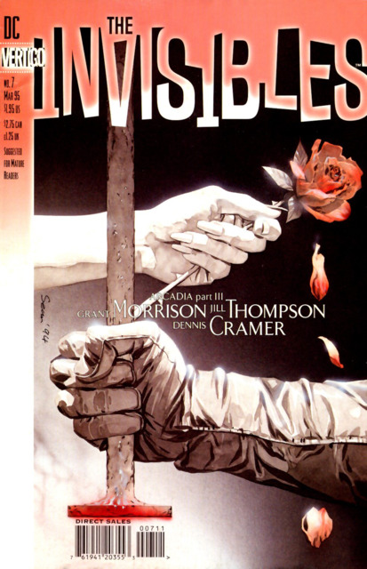Invisibles (1994) no. 7 - Used