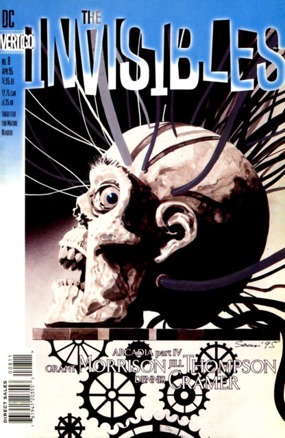 Invisibles (1994) no. 8 - Used