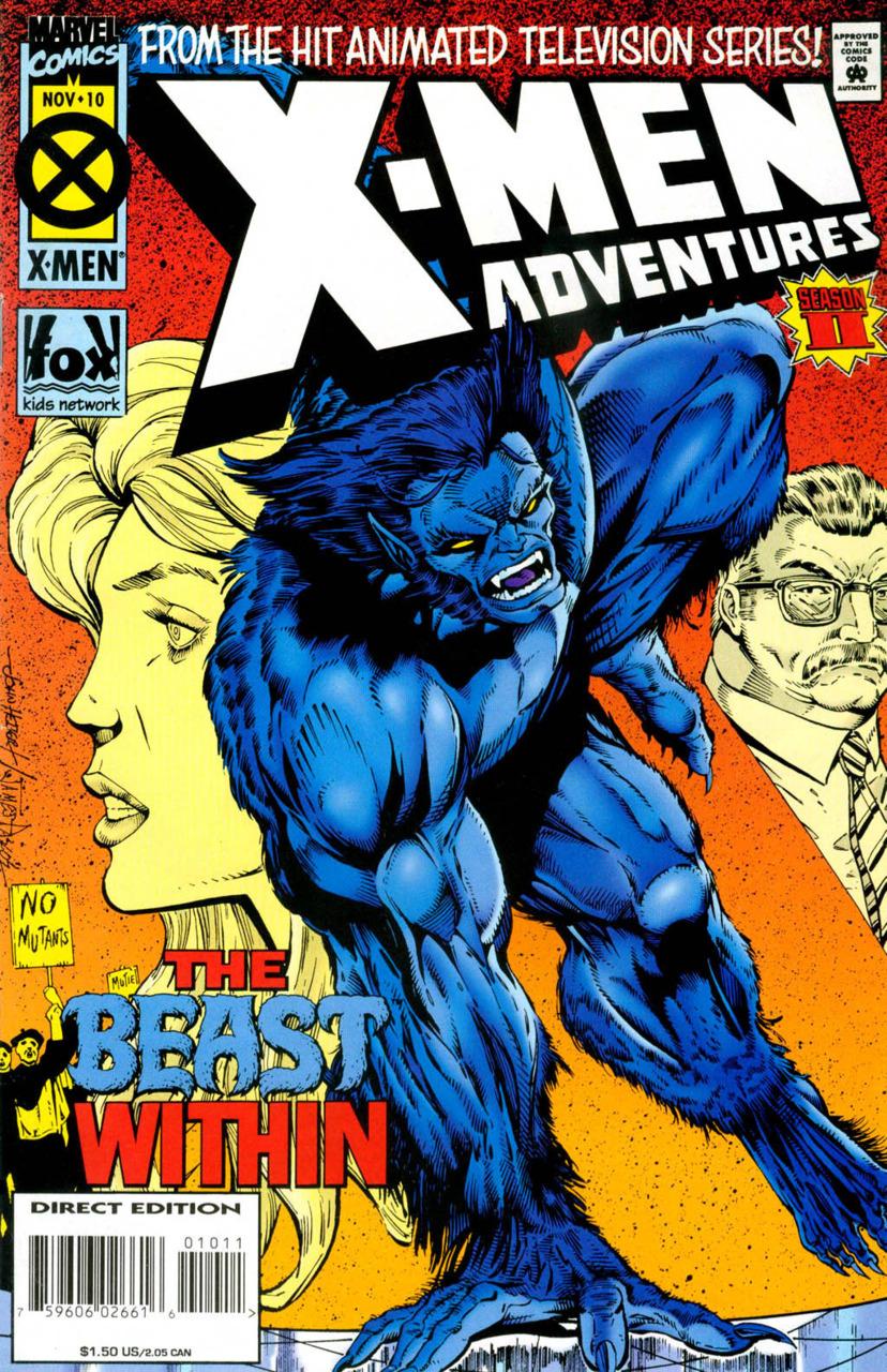 X-Men Adventures Season II (1994) no. 10 - Used