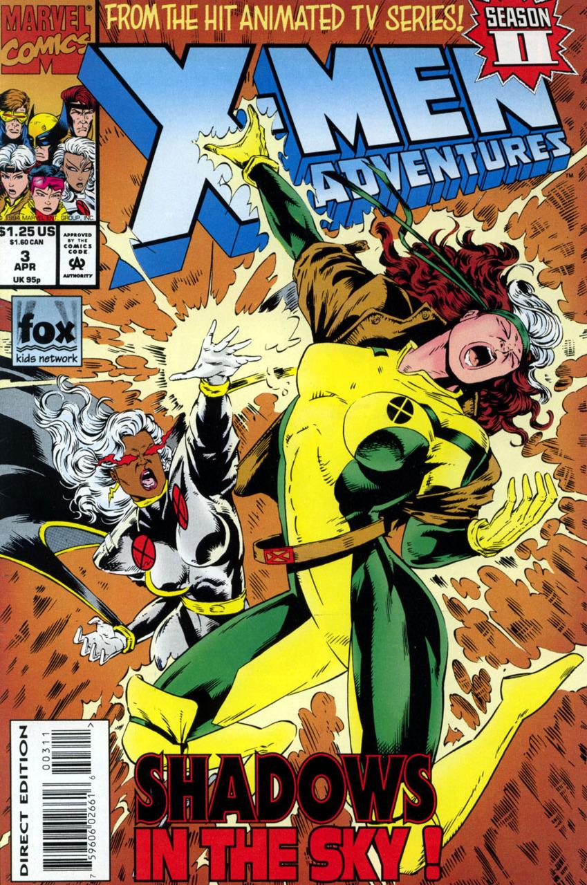 X-Men Adventures Season II (1994) no. 3 - Used