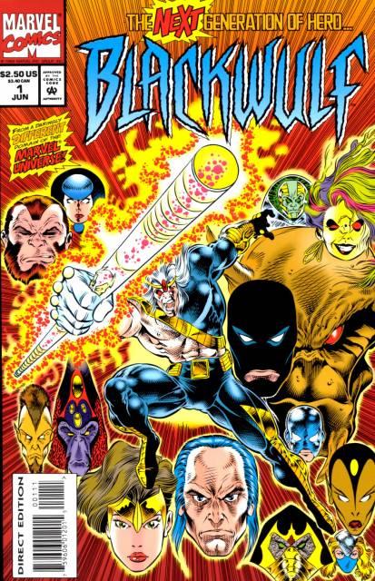 Blackwulf (1994) Complete Bundle - Used