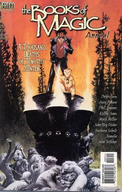 Books of Magic (1994) Annual no. 3 - Used