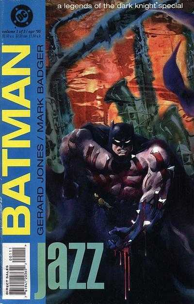 Batman Jazz (1995) Legends of the Dark Knight Special Complete Bundle - Used