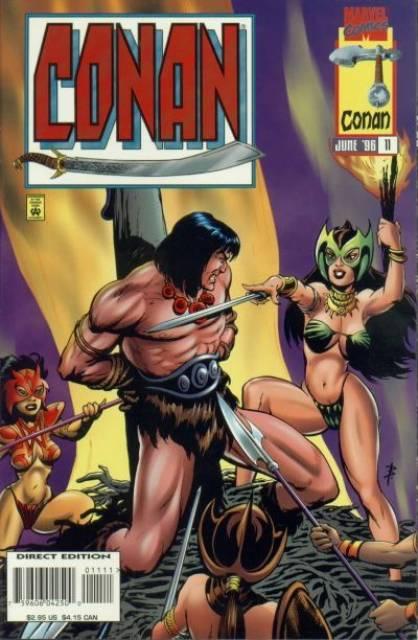 Conan (1995) no. 11 - Used