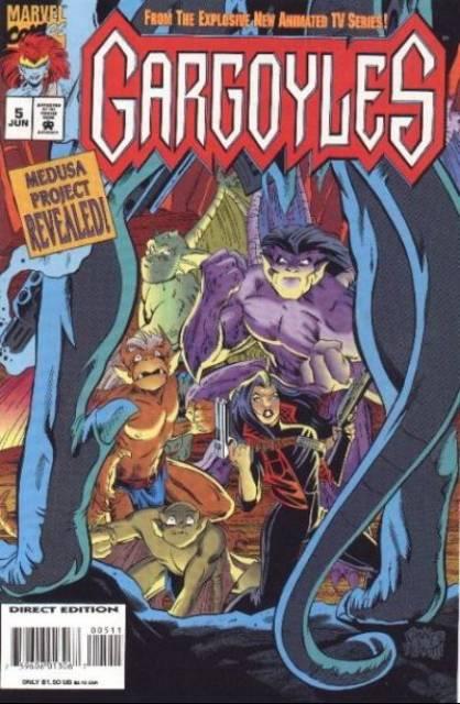 Gargoyles (1995) no. 5 - Used