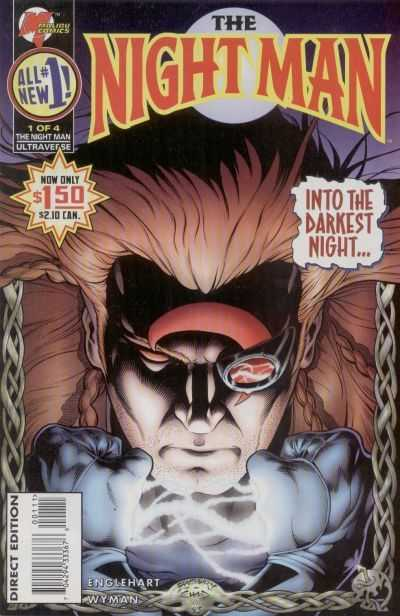Night Man (1995) Complete Bundle - Used