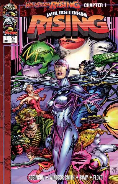 Wildstorm Rising (1995) Complete Bundle - Used