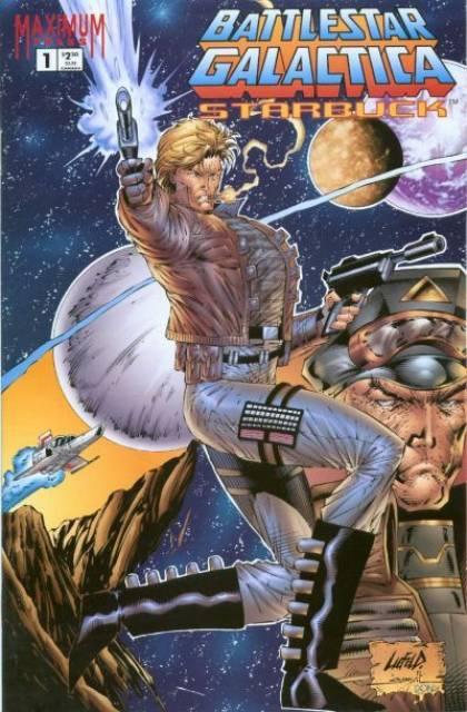 Battlestar Galactica: Starbuck (1995) Complete Bundle - Used