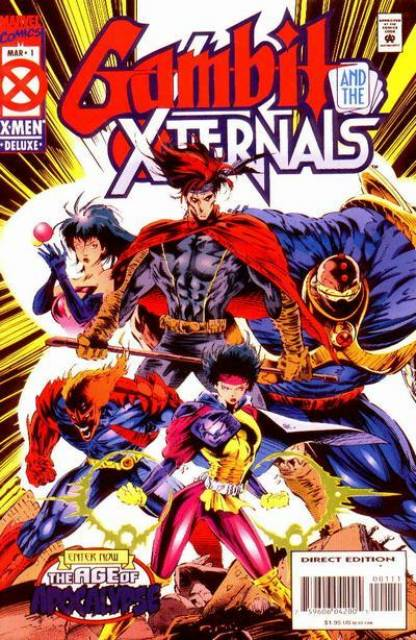 Gambit and the Xternals (1995) Complete Bundle - Used