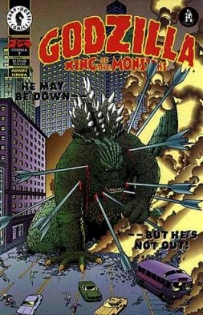 Godzilla King of Monsters (1995) no. 7 - Used