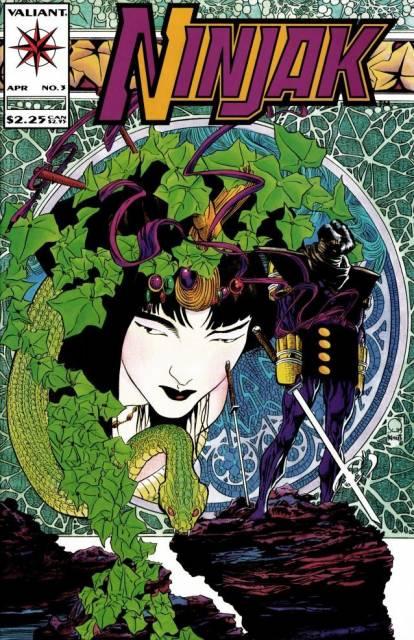 Ninjak (1994) no. 3 - Used