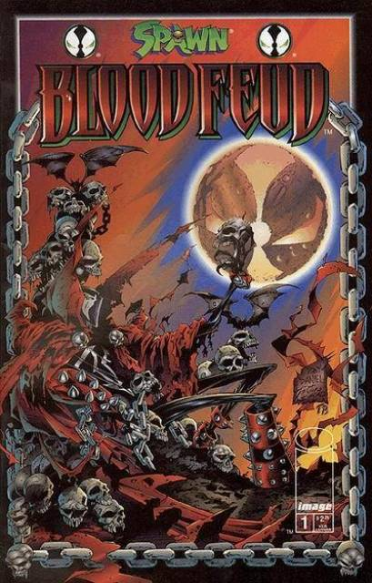 Spawn Blood Feud (1995) Complete Bundle - Used