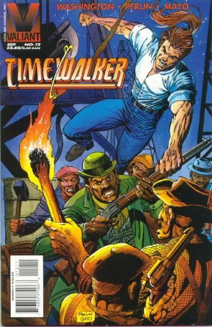 Timewalker (1995) no. 12 - Used