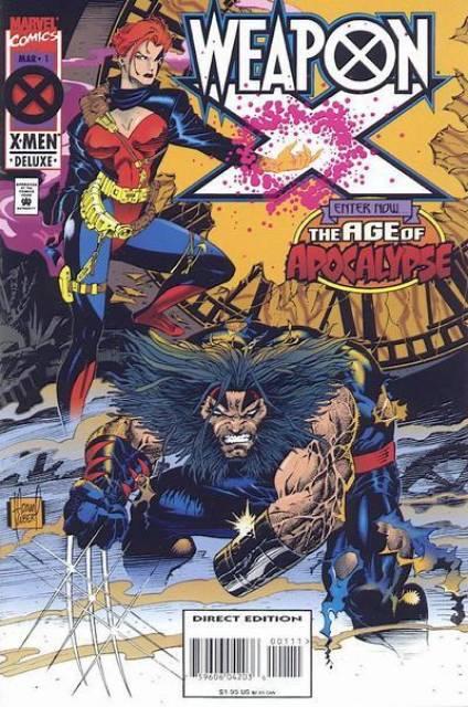 Weapon X: Age of Apocalypse (1995) Complete Bundle - Used