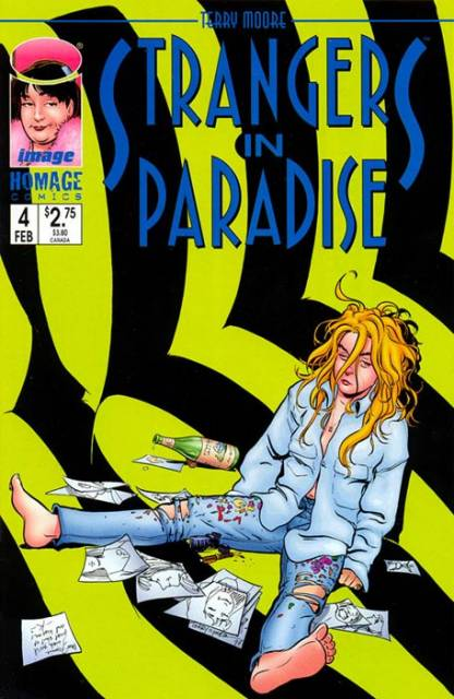 Strangers in Paradise (1996) no. 4 - Used