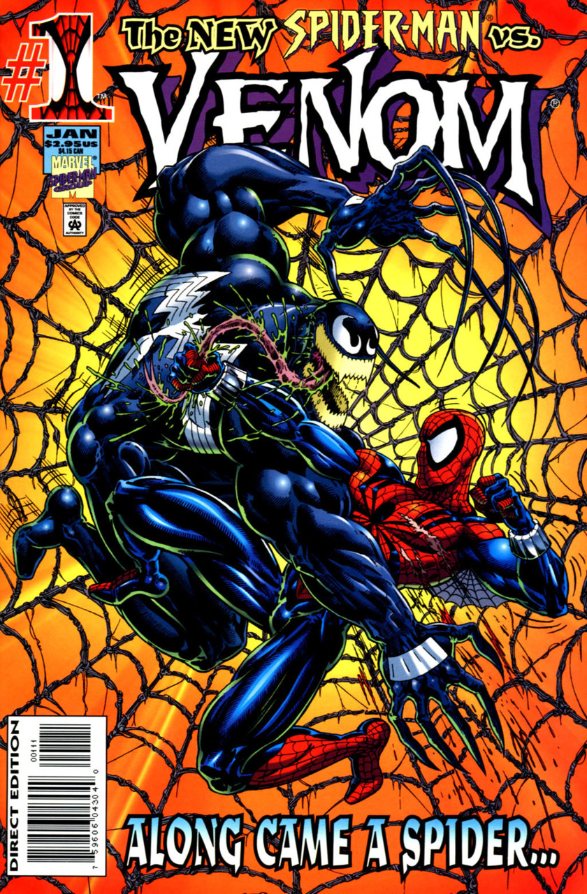 Venom Along Came the Spider (1996) Complete Bundle - Used