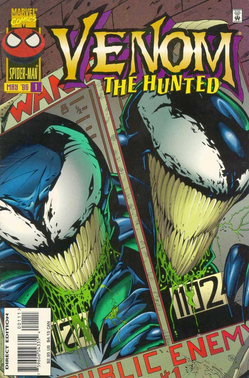 Venom the Hunted (1996) Complete Bundle - Used