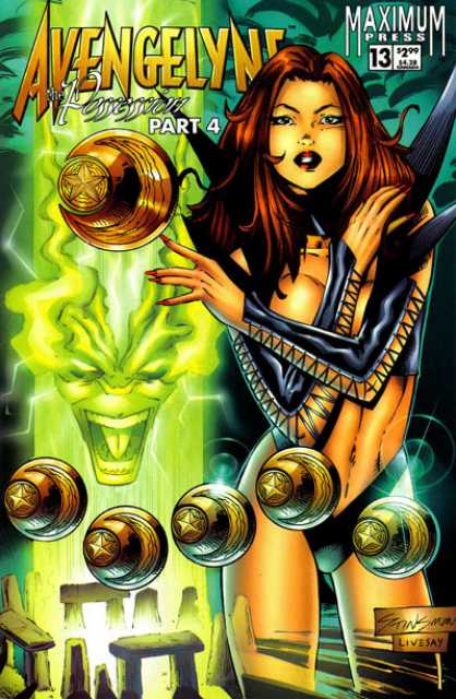 Avengelyne (1996 2nd series) no. 13 - Used