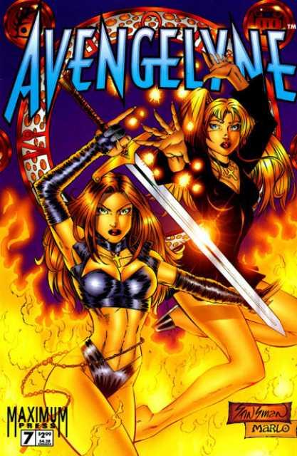 Avengelyne (1996 2nd series) no. 7 - Used