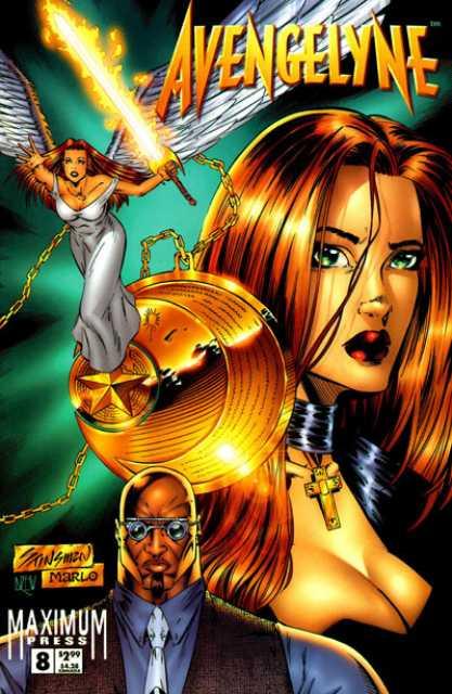 Avengelyne (1996 2nd series) no. 8 - Used