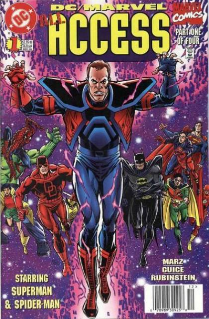 DC Marvel Access (1996) Complete Bundle - Used