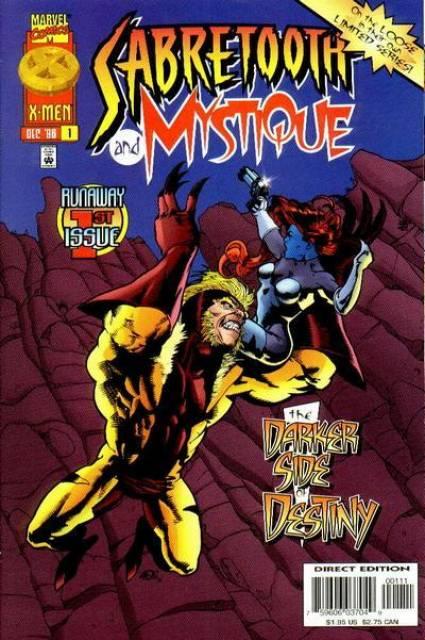 Sabretooth and Mystique (1996) Complete Bundle - Used