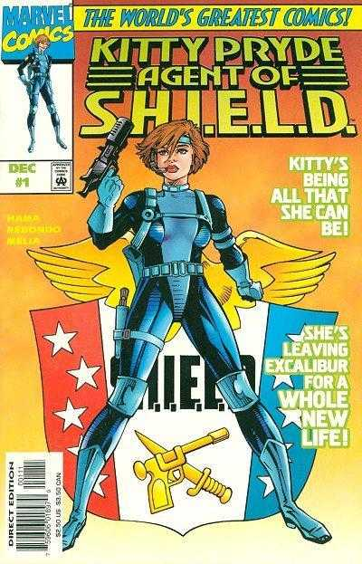 Kitty Pryde Agent of Shield (1997) Complete Bundle - Used