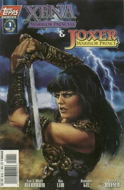 Xena Warrior Princess and Joxer Warrior Prince (1997) Complete Bundle - Used