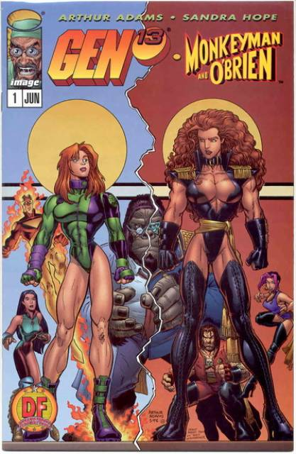 Gen 13: Monkeyman and Obrien (1998) Complete Bundle - Used