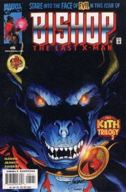 Bishop The Last X-Man (1999) no. 5 - Used
