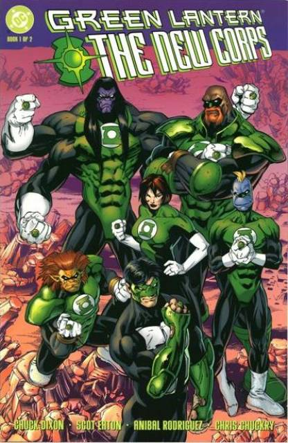 Green Lantern The New Corps (1999) Complete Bundle - Used