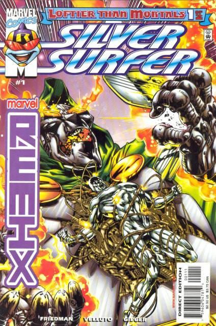 Silver Surfer Loftier Than Mortals (1999) Complete Bundle - Used