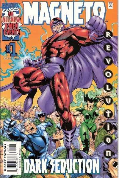 Magneto Dark Seduction (2000) Complete Bundle - Used